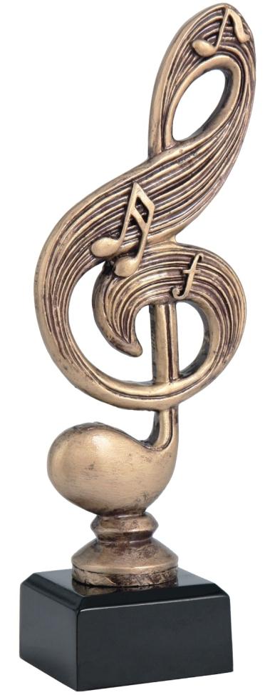 Violinkulcs trófea
