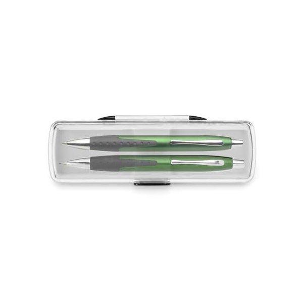Zöld xenia tollkészlet