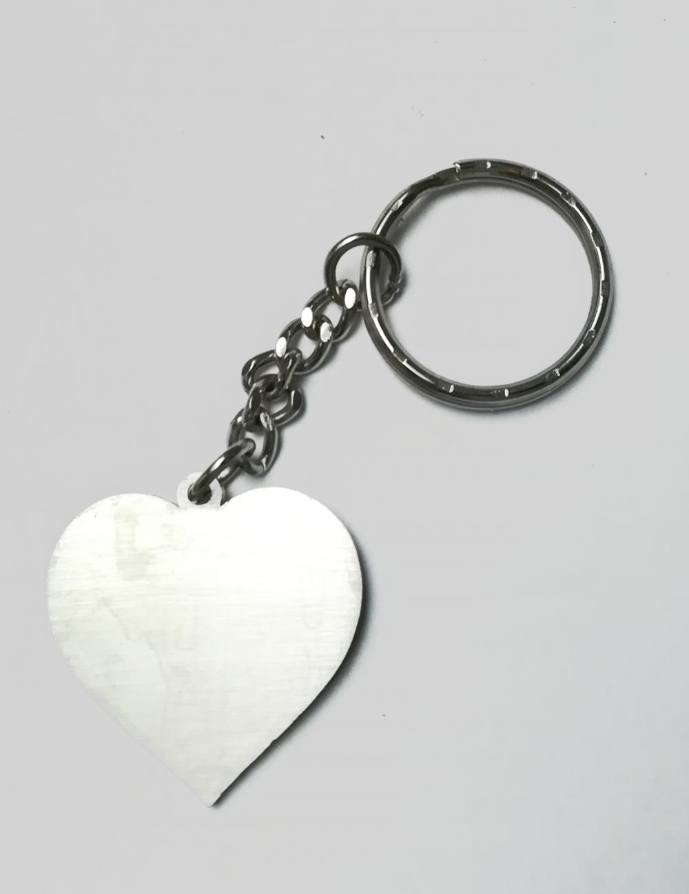 Szív kulcstartó