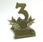trófea 3. helyezettnek