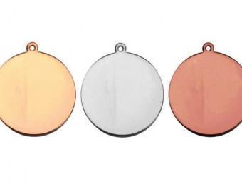 50 mm Color Print érem arany, ezüst, bronz